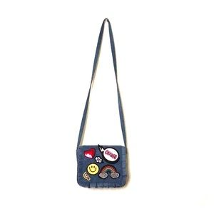 Jean bag with emojis